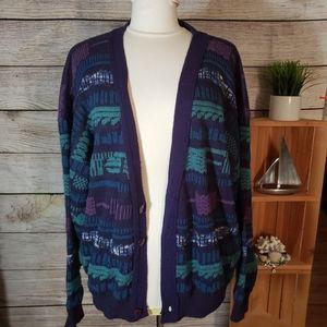 Vintage Gitano button up sweater size XL